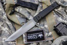Тактический нож «Aggressor» AUS-8 Stonewash