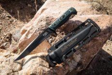 Нож тактический «Intruder» 440C Black Titanium