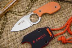 Нож шейный «Amigo» Z D2 Satin