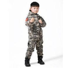 Костюм тактический демисезонный «Ситка» Softshell (КМФ пиксель) детский