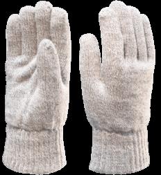 Перчатки полушерстяные утепленные