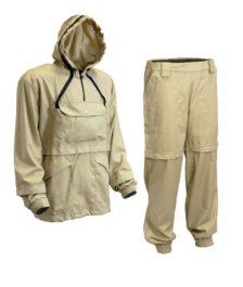 Противоэнцефалитный костюм с ловушками (Хлопок) Бежевый