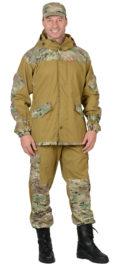 Костюм «СИРИУС-Горка» куртка, брюки (п-но палаточн.+отделка тк.Рип-стоп) Мультикам