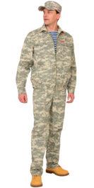 Костюм «СИРИУС-Рысь» куртка, брюки (тк. Рип-стоп 210) КМФ Пустыня