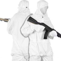 Маскировочный зимний костюм (цв.белый)
