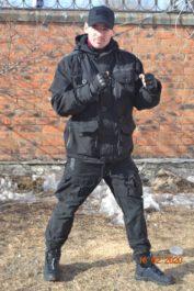 Костюм демисезонный «ГОРКА-7» (цв.Черный) т.к Мембрана 5000 Бренд: Пилигрим
