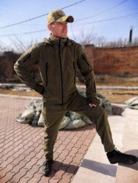 Костюм флисовый (куртка+брюки)